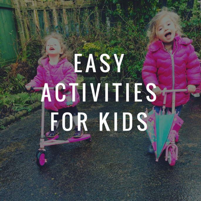 Easy Ways to entertain kids